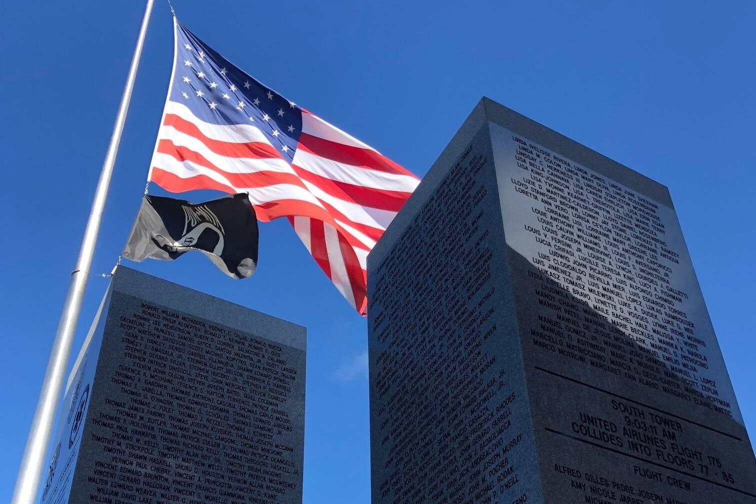 9/11 Memorial in Cashmere, Washington. Photo courtesy of Greg Asimakoupoulos